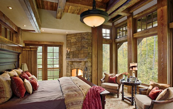 Hiasan Dinding Kamar Tidur Dengan batuan Alami