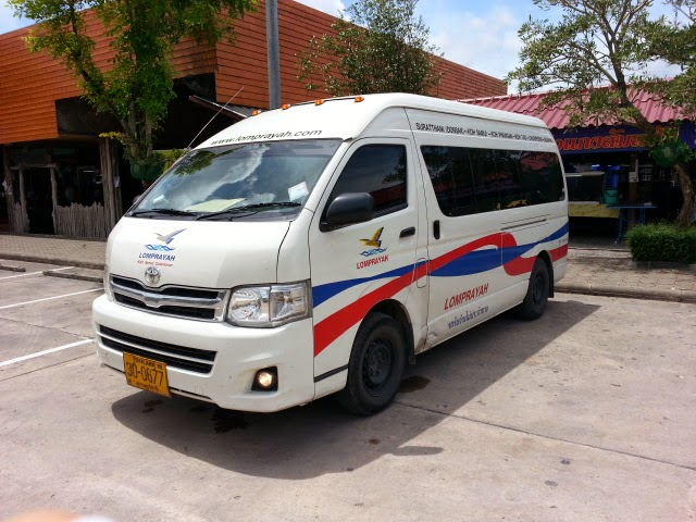 Minivan from Phuket to Samui