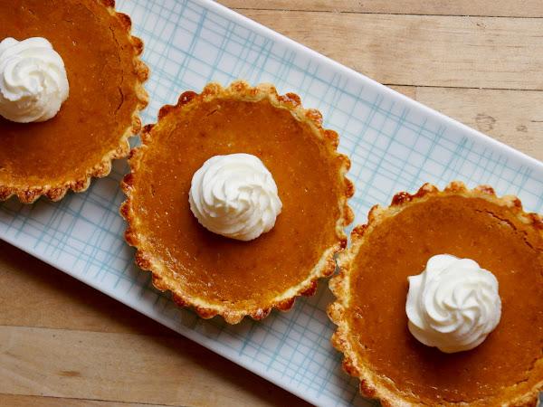 REZEPT: glutenfreie Mini-Pumpkin-Pies