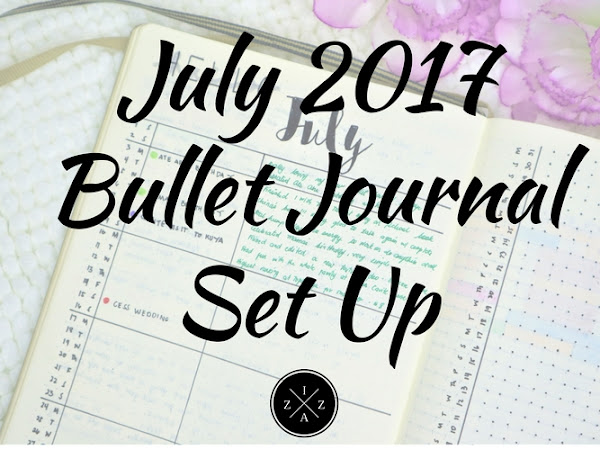 July 2017 Bullet Journal Set Up Philippines | Izza Glino