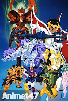 Thiên Không Chiến Kí -Tenkuu Senki Shurato - Heaven Wars Shurato 1990 Poster