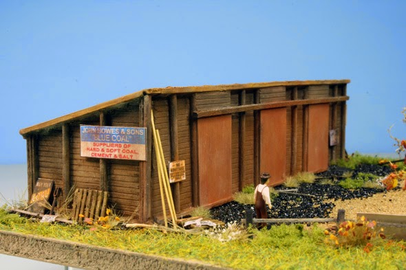 White River Division Hamilton Model Works N Scale Coal Shed