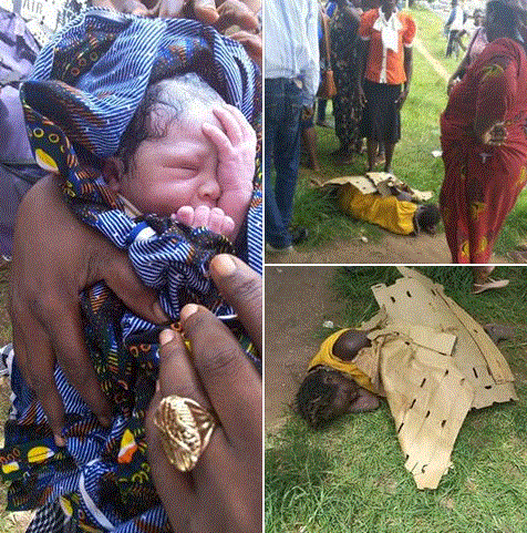 mad woman impregnated by ritualists