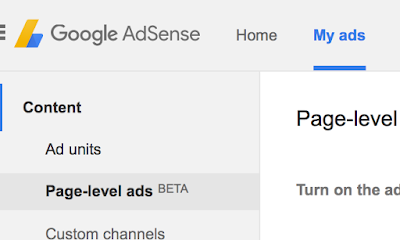 How to setup Adsense Page-level ads in Blogger? How to fix the errors?