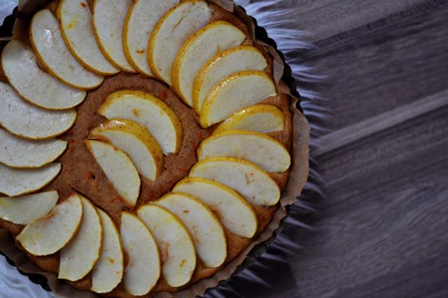 Dýňový koláč s jablky