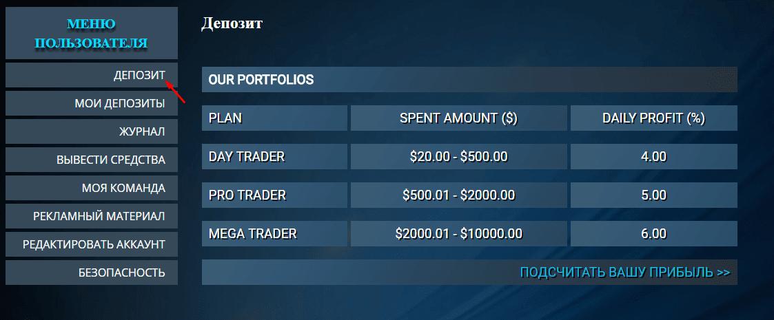 Регистрация в Mega Traders 3