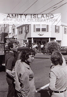 Spielberg rodando Tiburón en Martha's Vineyard - Amity Island