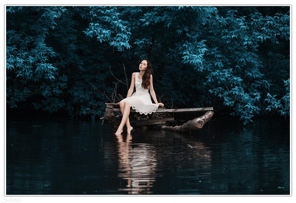 фотосессия на берегу реки