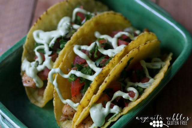 Gluten free chicken tacos for Cinco de Mayo from Anyonita-nibbles.co.uk
