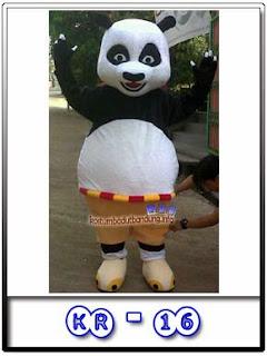 foto badut kungfu panda karakter