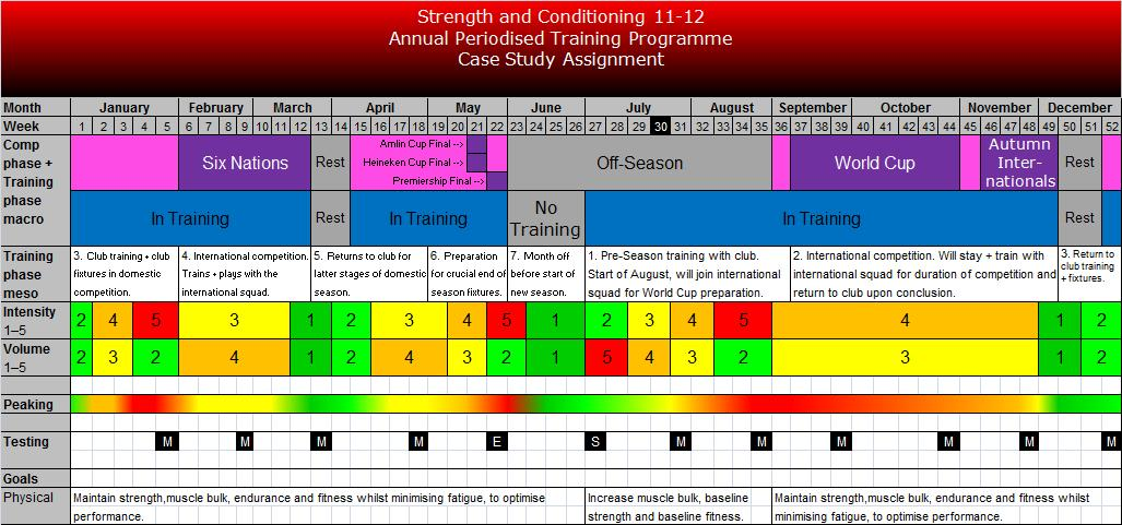 strength and conditioning templates - yearly training schedule template excel annual schedule