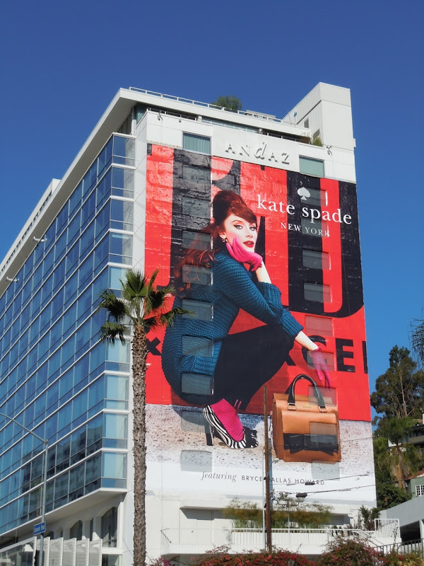 Giant Kate Spade fashion 2011 billboard