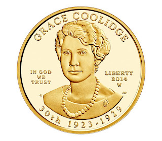 US Gold Coins Grace Coolidge 10 Dollars First Spouse Gold Coin