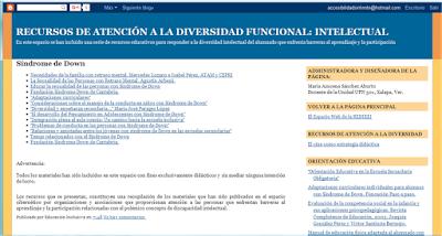 RECURSOS DE ATENCIÓN A LA DIVERSIDAD FUNCIONAL: INTELECTUAL
