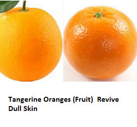Tangerine Oranges (Fruit) -  Revive Dull Skin