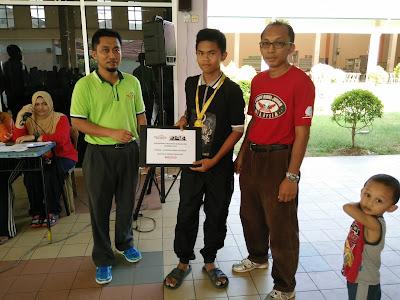 Terbaik Bawah 18 tahun Kejohanan Catur Rapid Terbuka PSIS