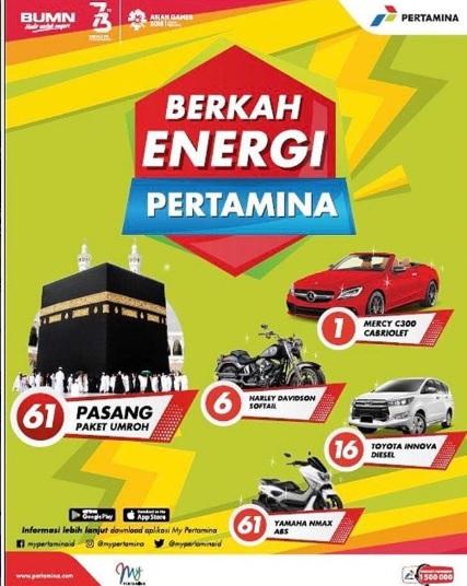 Berkah energi pertamina