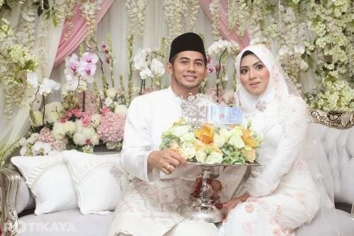 Gambar  sekitar majlis perkahwinan  Fizo Omar dan Mawar