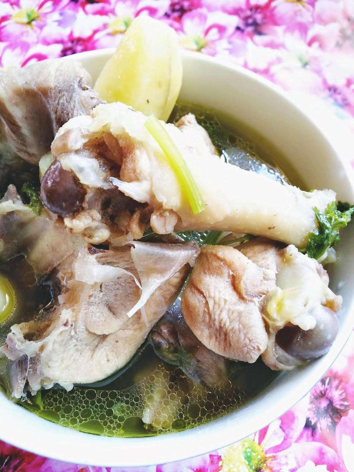 Sup Ayam Kampung : kampung, KAMPUNG