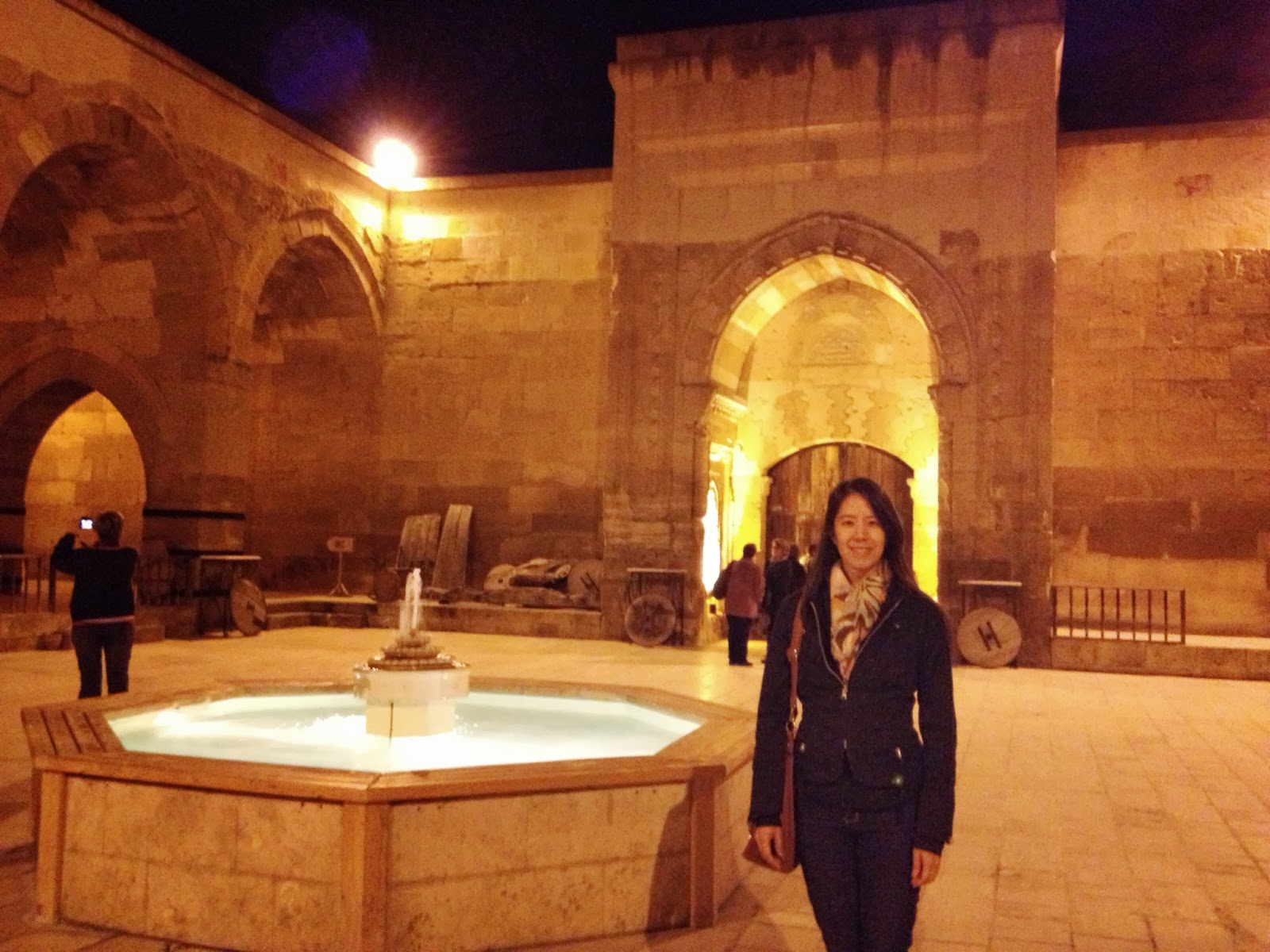 Cappadocia - Going to a performance of Whirling Dervishes