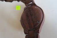 Rückseite: Holz Armbanduhr 360° Nut