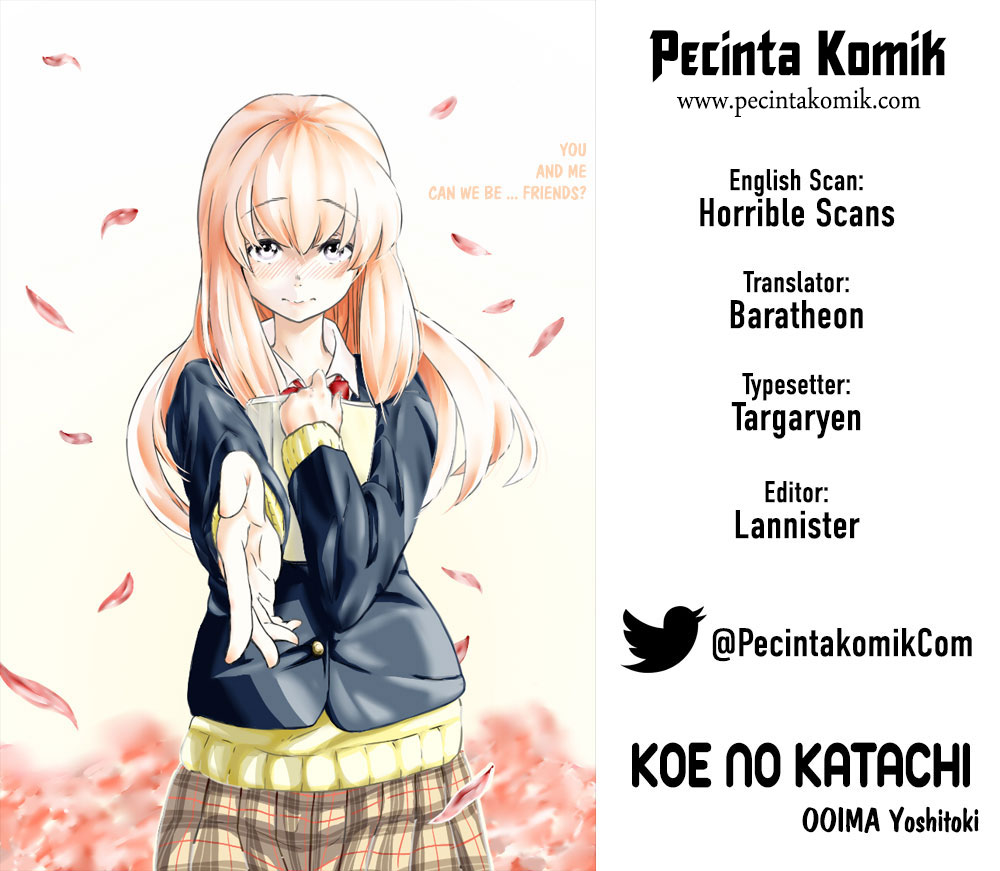 Koe no Katachi Chapter 32-1