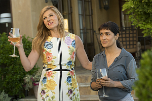 "Movie review of ""Beatriz at Dinner."""