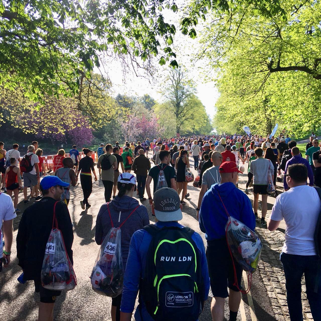 London Marathon Start