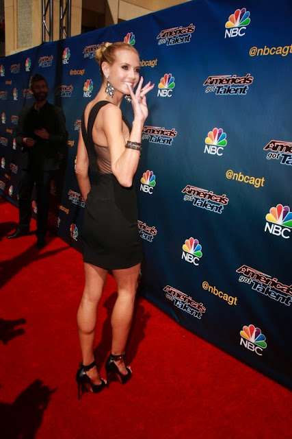 Heidi Klum at 'America's Got Talent' Season 10 Red Carpet Event in Hollywood
