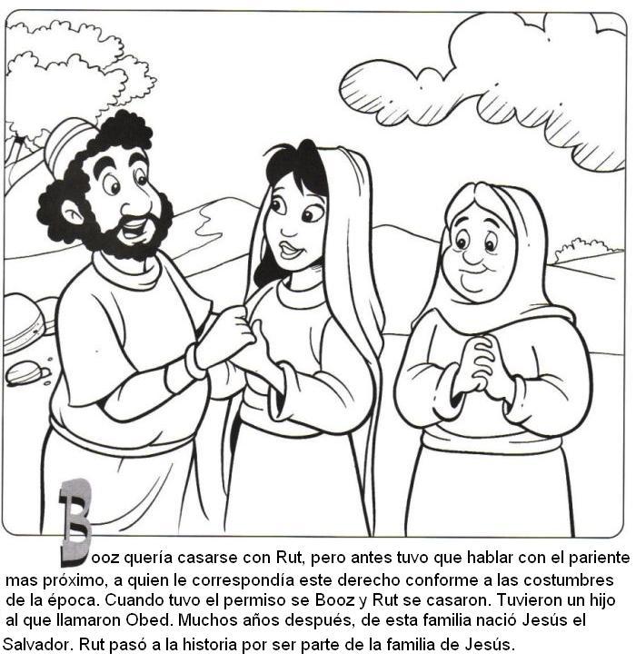 Historia De Ruth Biblia Para Ninos - Unifeed.club