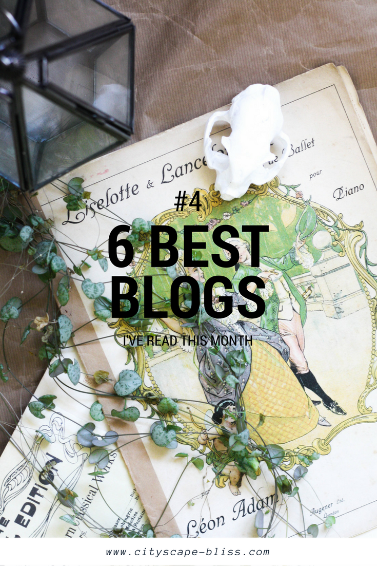 6 blogs I've actually read in March 2017