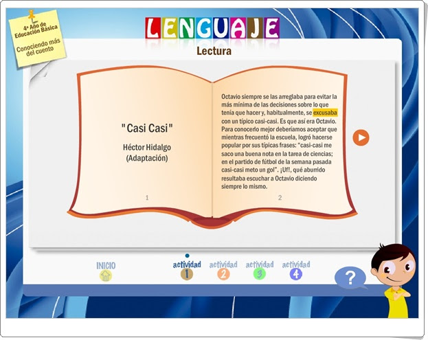 """""""Conociendo más el cuento"""" (Literatura de Educación Primaria)"""
