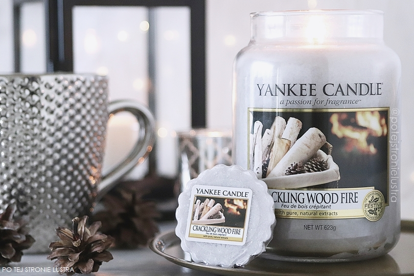 yankee candle crackling wood fire