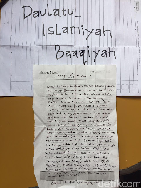 Surat Wasiat Teroris jatiluhur