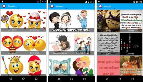Nuevos personajes en Stickers for WhatsApp