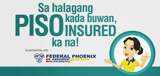 NCCC REWARDS MEMBERS GET INSURED FOR 1 PESO A MONTH
