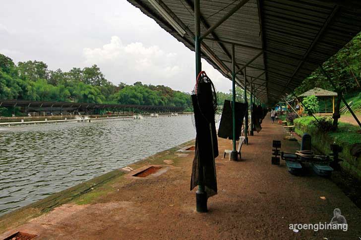 kolam pemancingan telaga cibubur