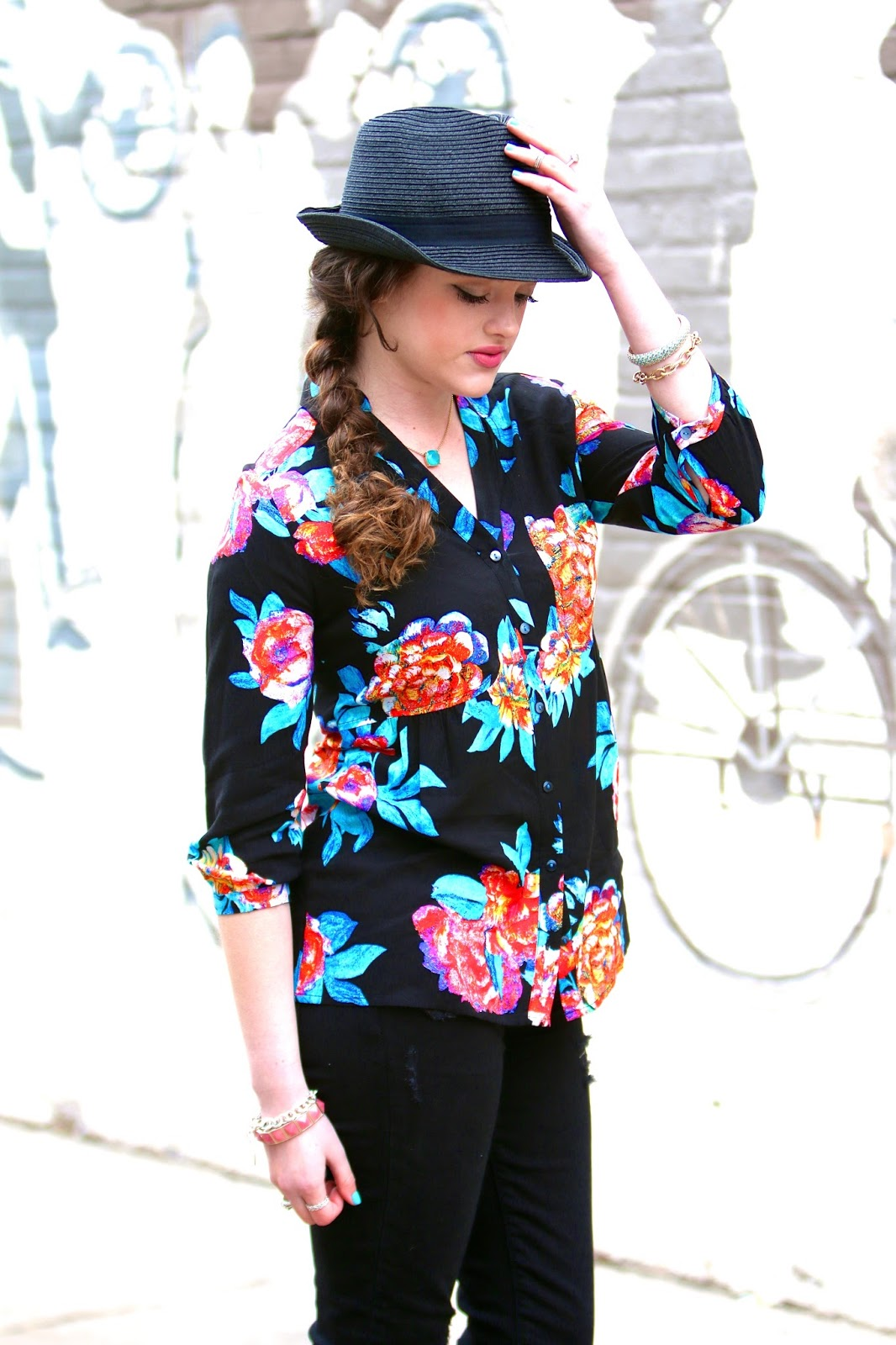 spring fashion floral