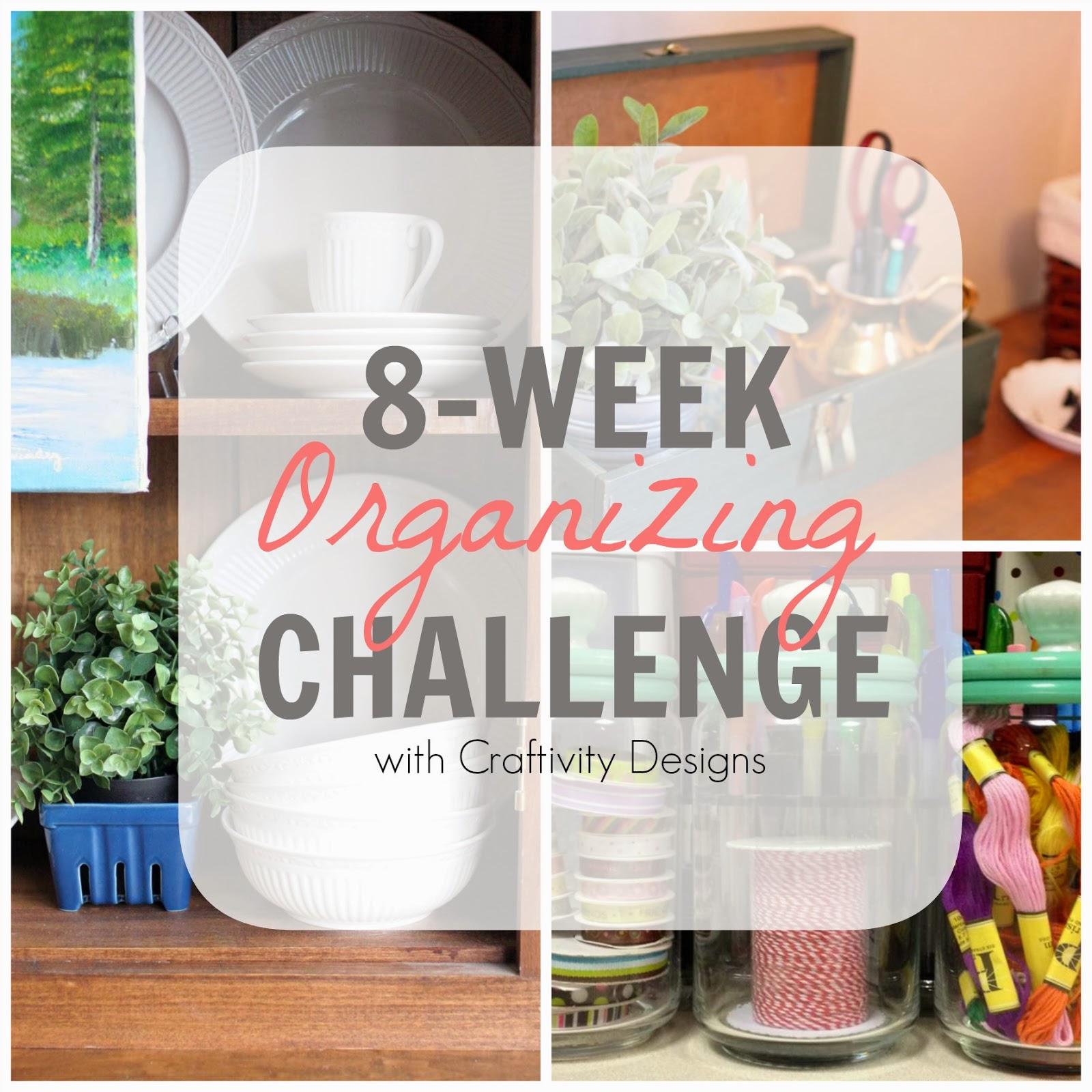 Craftivity Designs: 8-Week Organizing Challenge // Bathroom