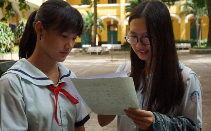 Thi lớp 10 trường Phổ thông Năng khiếu ở Sài Gòn: Một 'chọi' 5