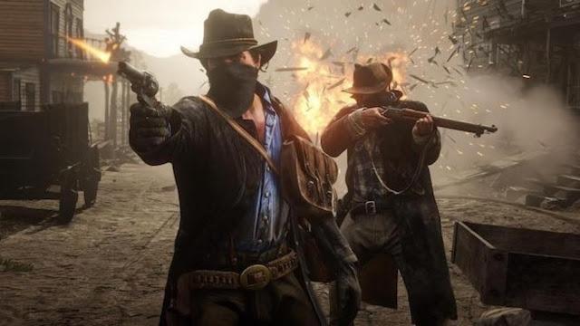المشاكل تتفاقم و بالفيديو سقوط السفن داخل طور الاونلاين للعبة Red Dead Redemption 2، لنشاهد من هنا ..