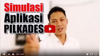 Video Tutorial Aplikasi PILKADES
