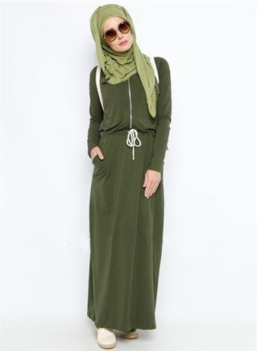 model hijab casual terbaru