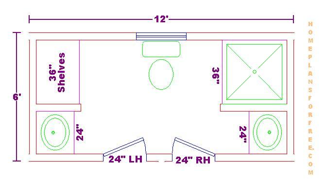 Foundation Dezin & Decor...: Bathroom Plans & Views
