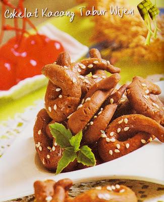 Resep Kue - Cokelat Kacang Tabur Wijen