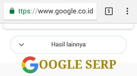 SERP Google (via mobile) Tidak Menampilkan 10 Pos Lagi