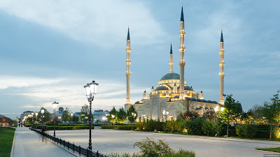 Heart Of Chechnya Mosque