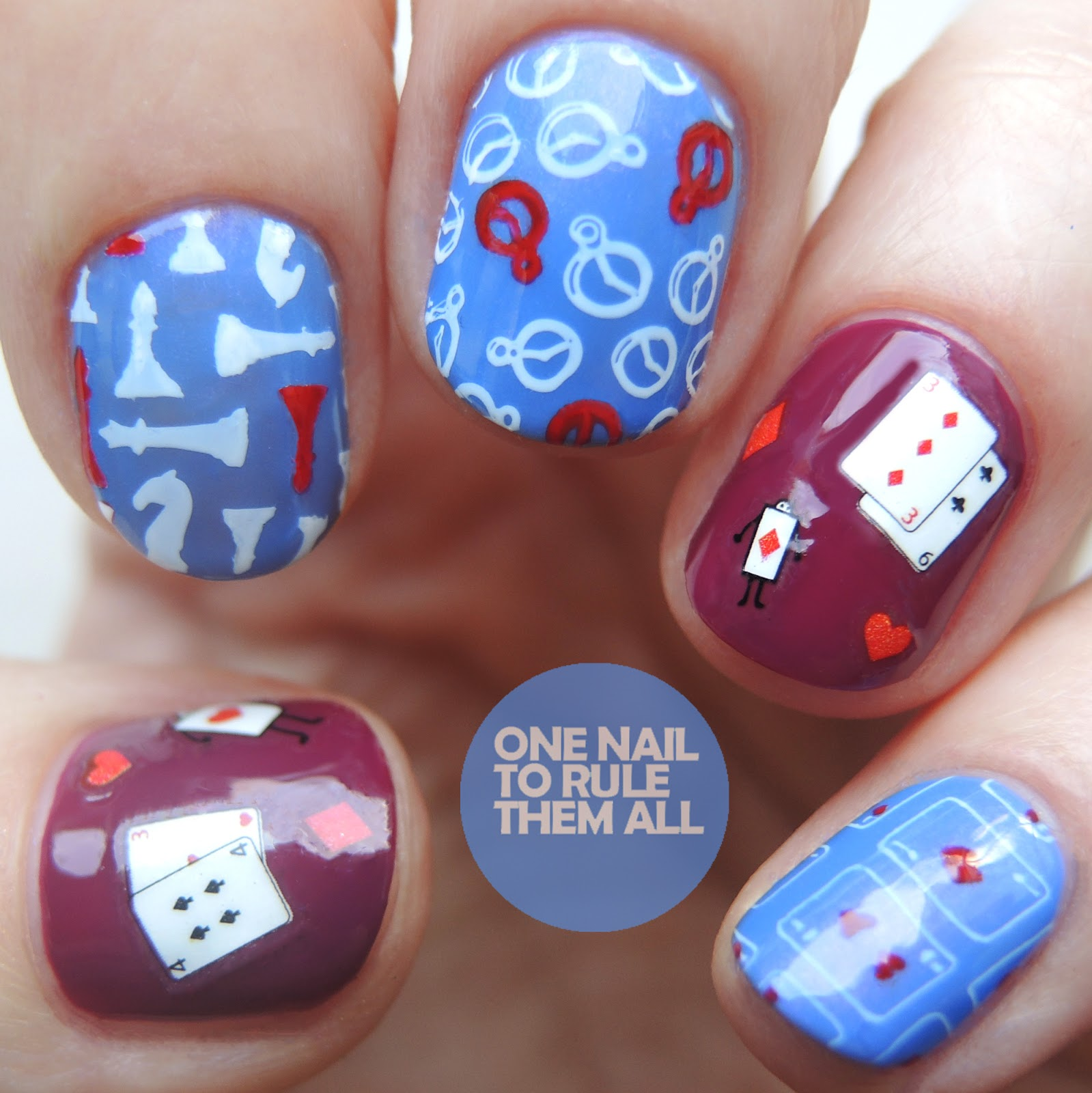 One Nail To Rule Them All: Meebox Nov '17 - Through The Looking