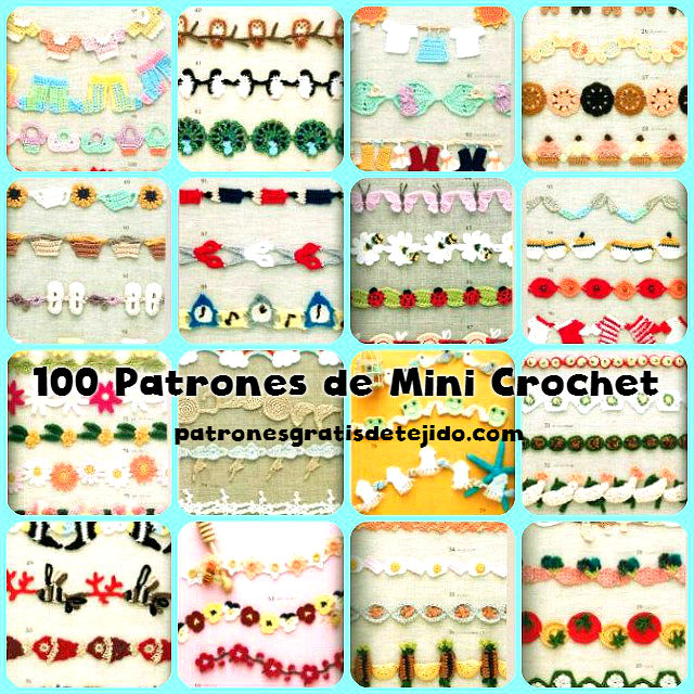 100 Patrones Crochet de Miniaturas super lindas / PDF gratis ...