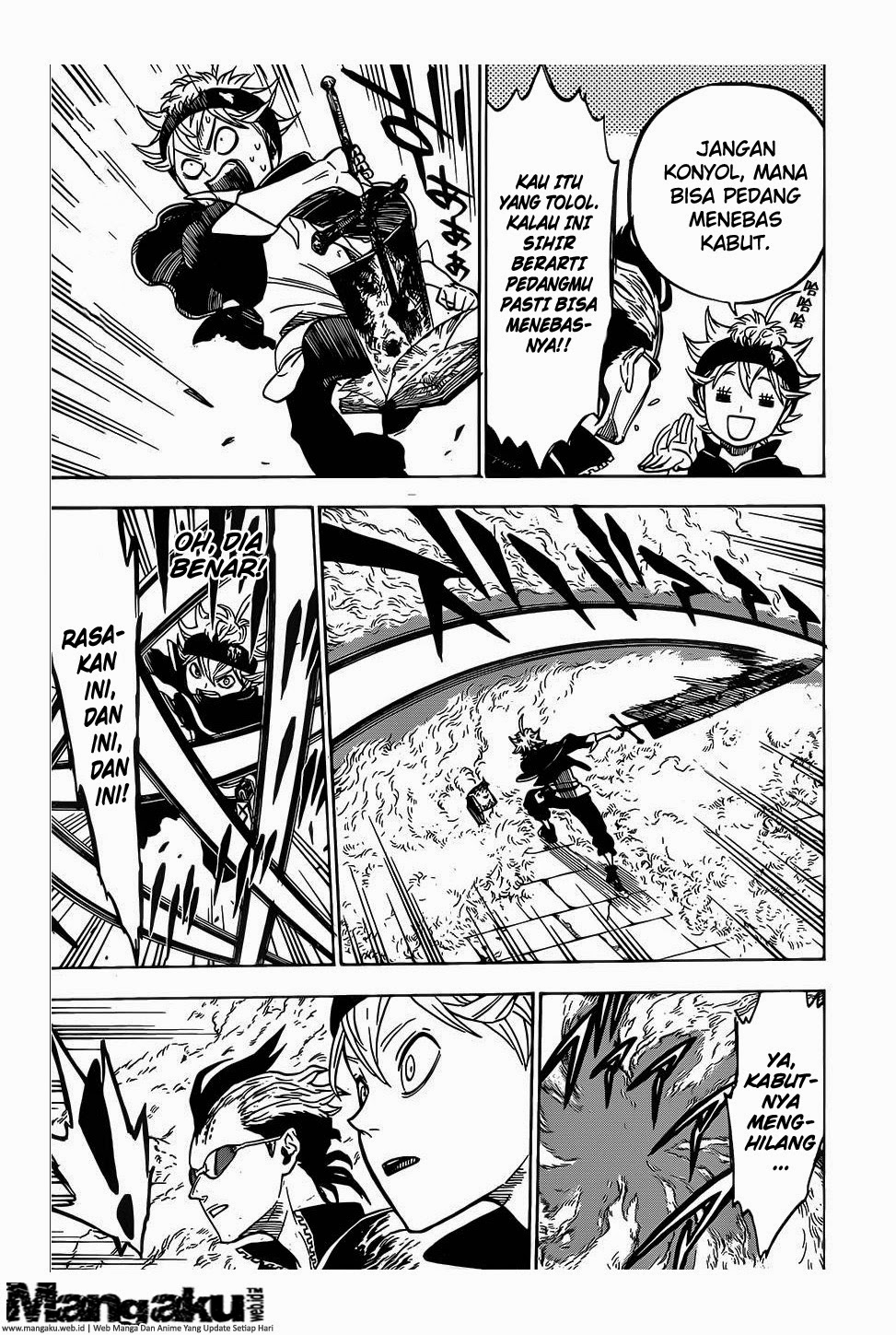 Manga Black Clover Chapter 6 Bahasa Indonesia